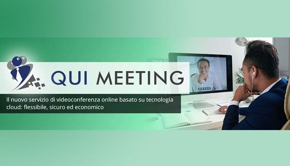 Qui Meeting: la soluzione per gli incontri di lavoro in smart working.