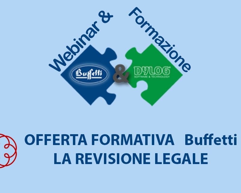Evento accreditato ODCEC – on line gratuito sulla revisione legale