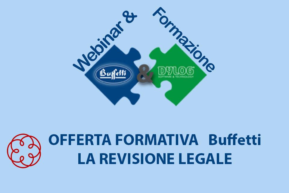 Evento accreditato ODCEC - on line gratuito sulla revisione legale