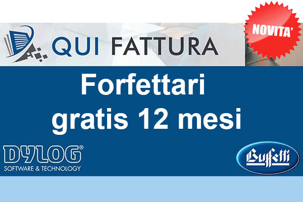 Promo QUI FATTURA Cloud Forfettari – Gratis 12 mesi